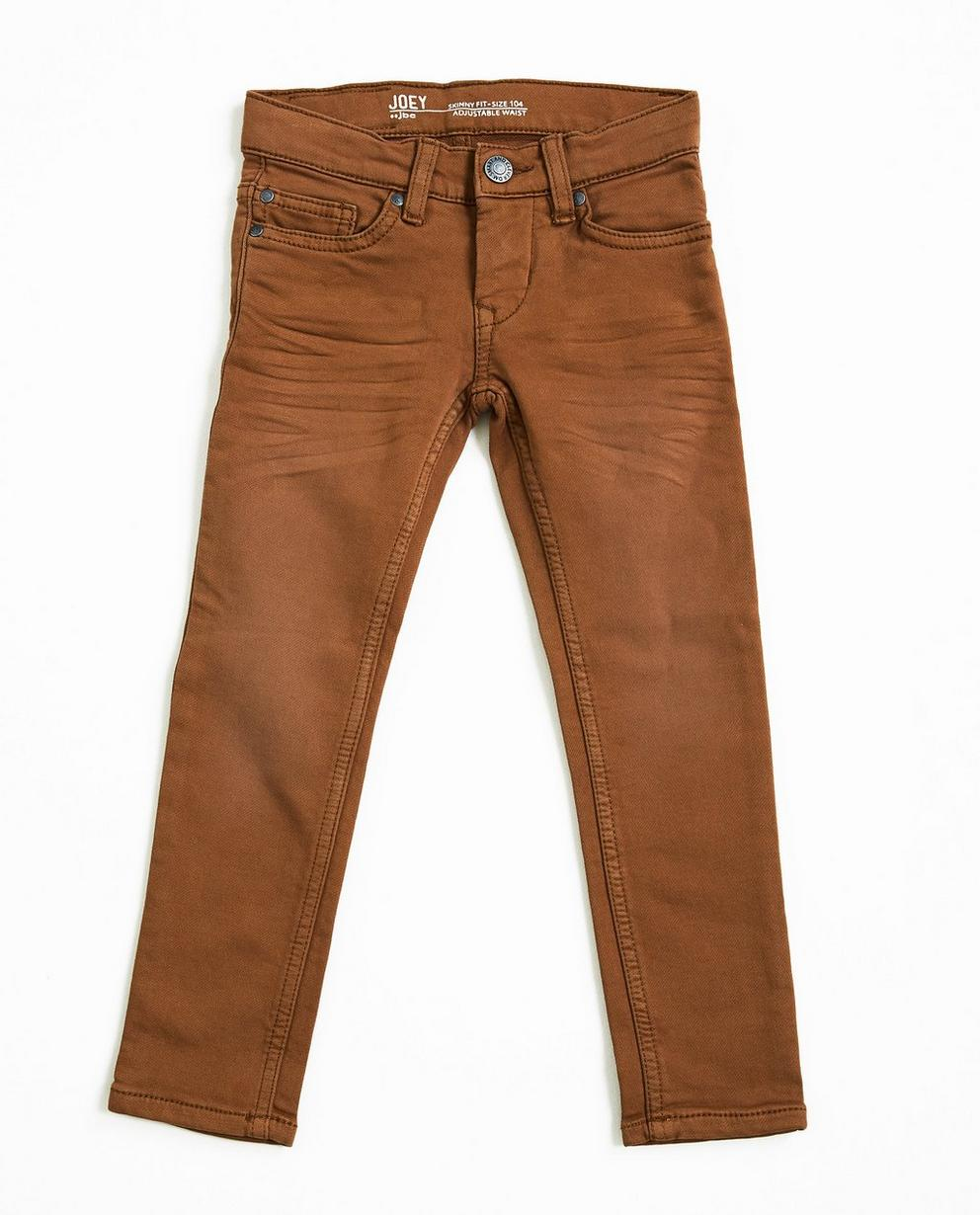 Donkerblauwe skinny jeans - sweat denim - JBC